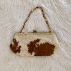 Beautiful Vintage Fur Clutch